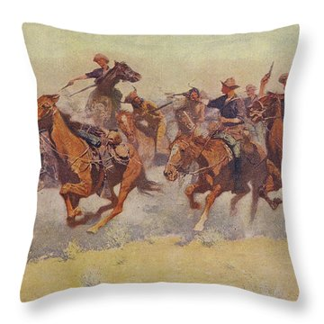 The Charge Throw Pillow