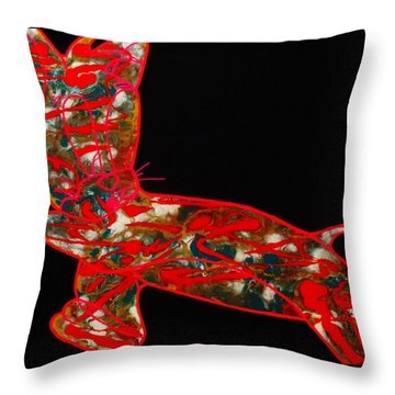 Hidden Messages Throw Pillow