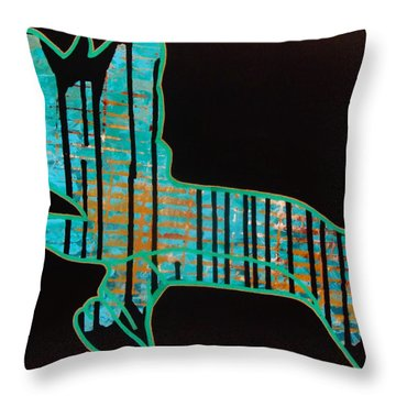 The Rundown Throw Pillow