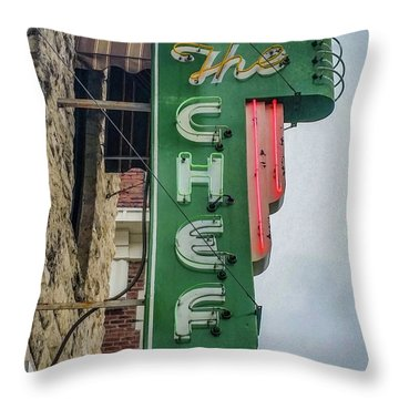 The Chef Throw Pillow