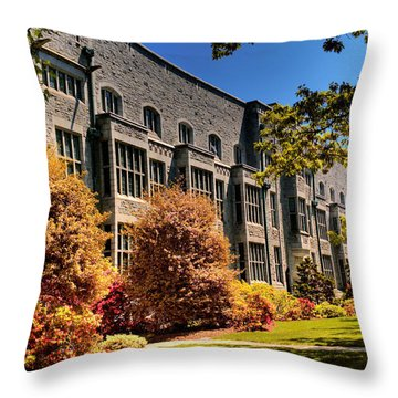 The Chem Building At Ubc Throw Pillow