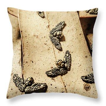 The Cherubs Of Love Throw Pillow