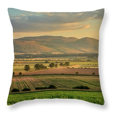 The Cheviots Throw Pillow