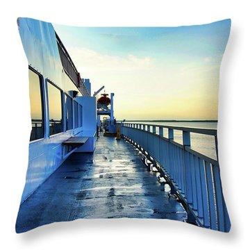 The Chi-cheemaun Throw Pillow