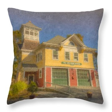 The Children's Museum Of Easton Throw Pillow