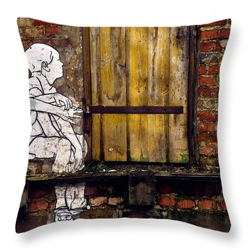 The Child's View Throw Pillow