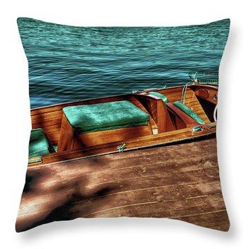 The Chris Craft Continental - 1958 Throw Pillow