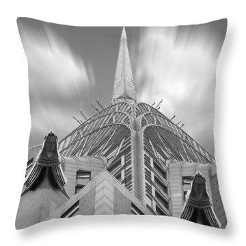 The Chrysler Building 3 Throw Pillow