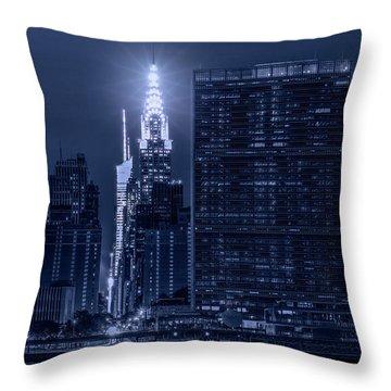 The Chrysler Star Throw Pillow