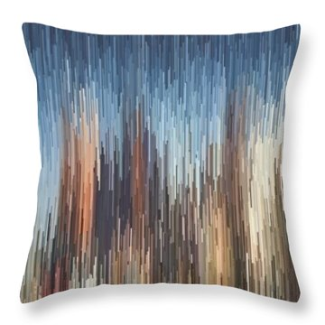 The Cities Throw Pillow