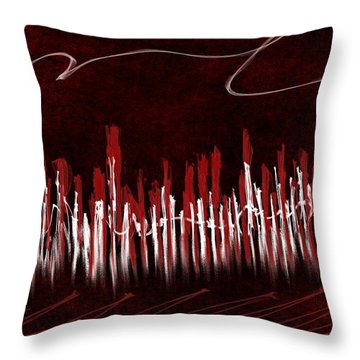 The City Of My Dreams Throw Pillow