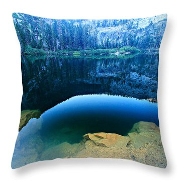 Throw Pillow featuring the photograph The Clarity Of Dawn by Sean Sarsfield