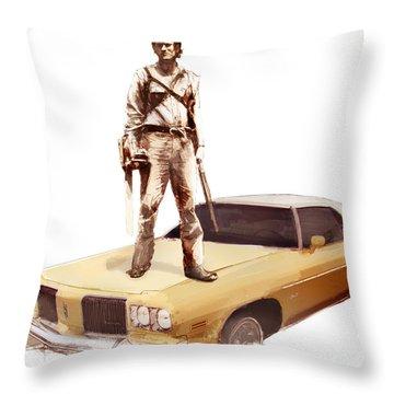 The Classic Throw Pillow by Kurt Ramschissel
