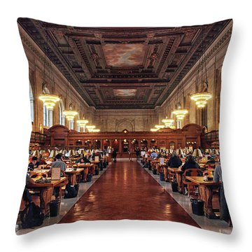 Throw Pillow featuring the photograph The Classic Rose Room by Jessica Jenney