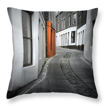 The Clear Target Throw Pillow