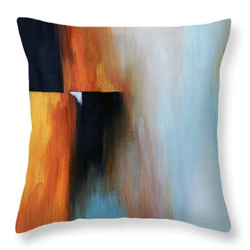 The Clearing 1 Throw Pillow by Michelle Joseph-Long
