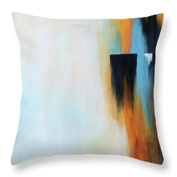 The Clearing 2 Throw Pillow by Michelle Joseph-Long