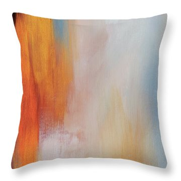 The Clearing 3 Throw Pillow by Michelle Joseph-Long