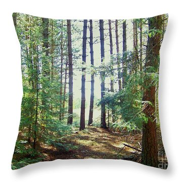 The Clearing 3 Throw Pillow