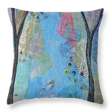 Northern California Throw Pillows