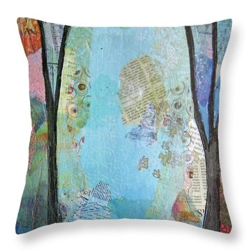 The Clearing II Throw Pillow