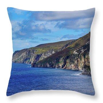 The Cliffs Throw Pillow