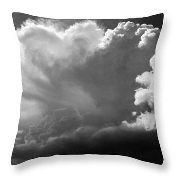 The Cloud Gatherer Throw Pillow