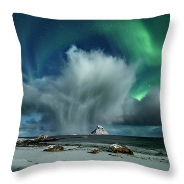 The Cloud I Throw Pillow