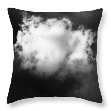 Throw Pillow featuring the photograph The Cloud by Mary Lee Dereske