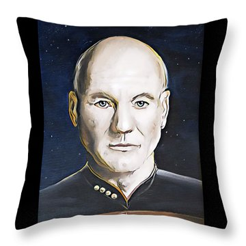 The Commanding Officer Throw Pillow