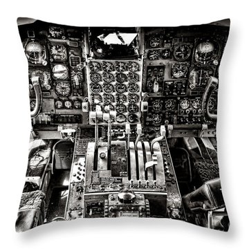 The Cockpit Throw Pillow
