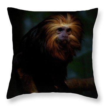 The Coif Throw Pillow
