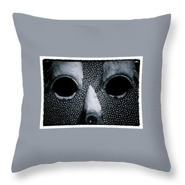 The Cold Stare Throw Pillow