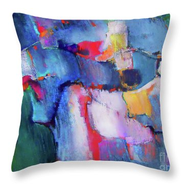 The Collaboration Throw Pillow
