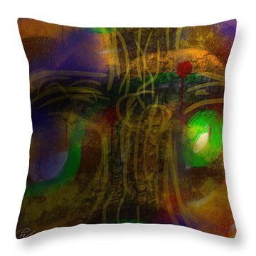 The Color Of Life Throw Pillow