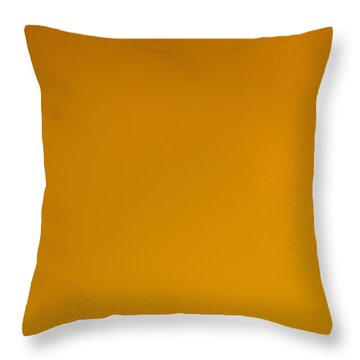 The Color Of Rust Throw Pillow