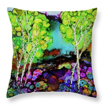 The Colors Of Colorado Throw Pillow