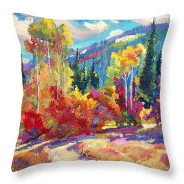 The Colors Of New Hampshire Throw Pillow
