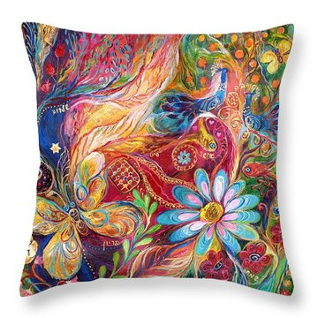 The Colors Of Spring. The Original Can Be Purchased Directly From Www.elenakotliarker.com Throw Pillow