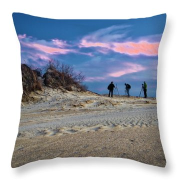 The Colors Of Sunset Throw Pillow