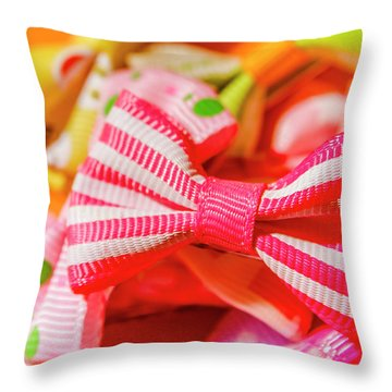 The Colourful Accessory Store Throw Pillow