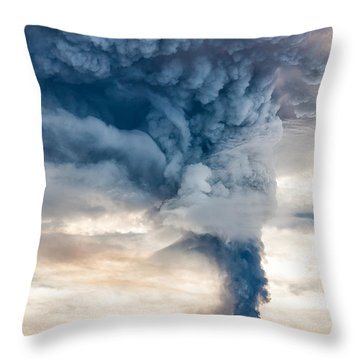 The Column Throw Pillow