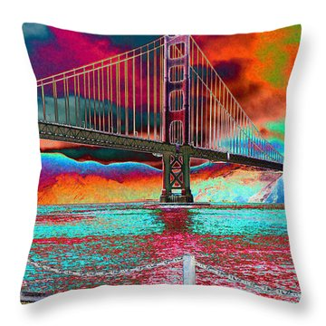 The Coming Fire Throw Pillow