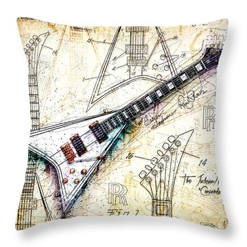 The Concorde Throw Pillow