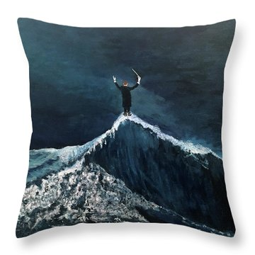 The Conductor Throw Pillow