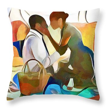 The Confidante Throw Pillow