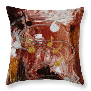 The Confusing Dance Of Life Throw Pillow