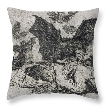 The Consequences Throw Pillow by Goya