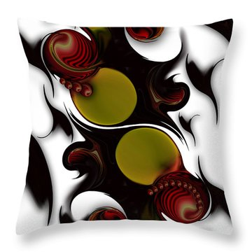 The Continuation Of Dreams Throw Pillow