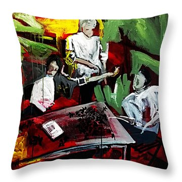 The Contract Throw Pillow